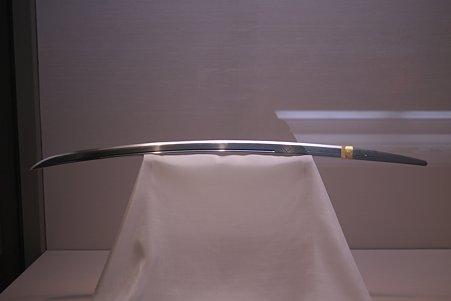 2010.11.15 東京国立博物館 刀 相州貞宗 切刃貞宗