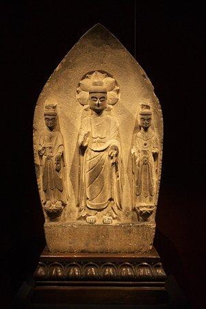 2010.11.15 東京国立博物館 仏像の道-インドから日本へ 如来三尊立像 中国