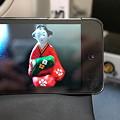 Photos: 2010.11.26 机 iPod touchをフォトフレーム