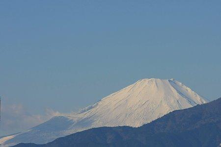 2011.01.07 散歩道 富士山