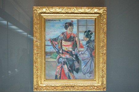 2011.02.06 東京国立博物館 舞妓 黒田清輝 明治時代