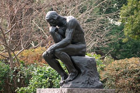 2011.02.06 国立西洋美術館 考える人 オーギュスト・ロダン