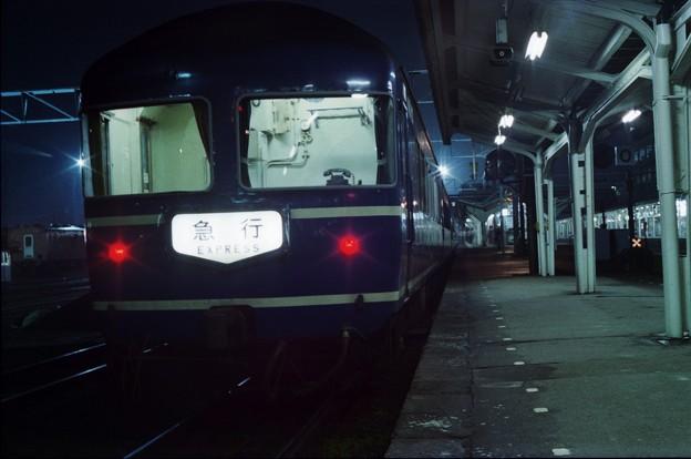 AS17-2s-だいせん5号、福知山駅に停車中