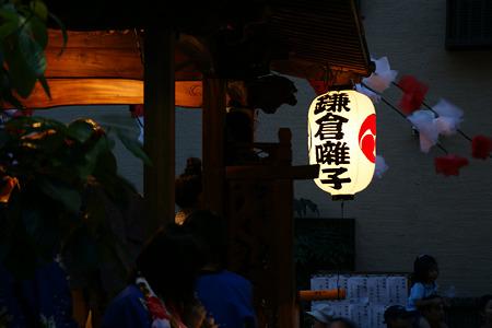 夕暮れに、鎌倉囃子が響く!(100710)