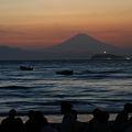 Photos: 影富士と江ノ島灯台!(20100826)