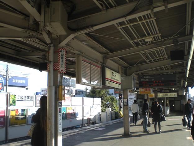 下北沢駅構内
