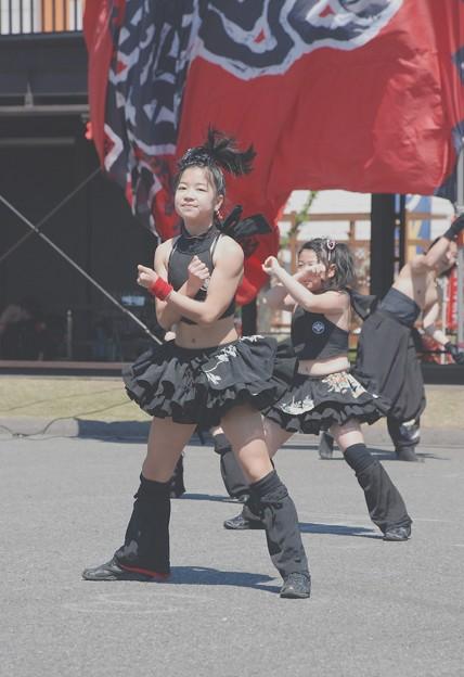 雷舞・G小虎・懸命に踊る-2-070