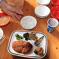 写真: 100721-128ヒュッテの夕食