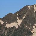 Photos: 100722-22蝶ヶ岳登山・穂高連峰と槍ヶ岳(10/30)