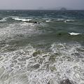 Photos: 荒れた海