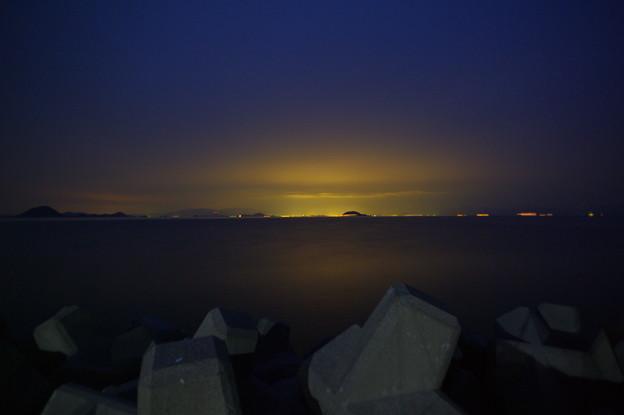 松山の明かり(1)