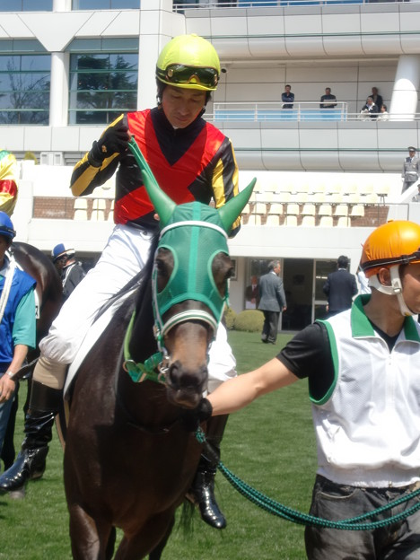 5Rプールルメリットと柴田善臣騎手(10着)