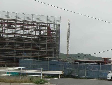 鹿島町計画(仮称) 2010年11月開業予定で再着工2u-220621-1