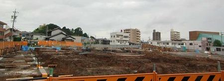 ドミー竜美ヶ丘店 2010年12月1日 基礎工事着工-220627-1