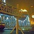 写真: 開放橋付近