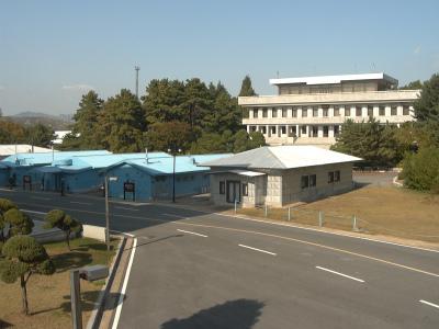 板門店と北朝鮮建物