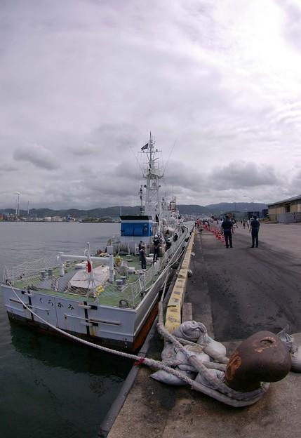 IMGP9949魚眼海の日SP巡視船くろかみ潜入記3