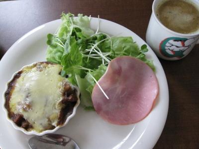 Photos: 残りカレー ランチ仕様