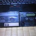写真: SONYのクロムとメタルテープ