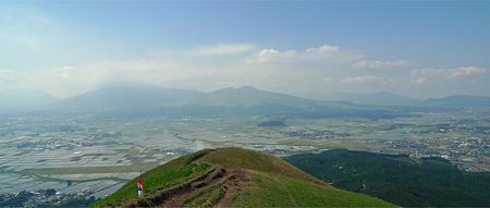 新緑の大観峰(4)