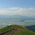 写真: 新緑の大観峰(4)