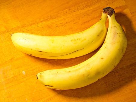 バナナ。おいしそう。