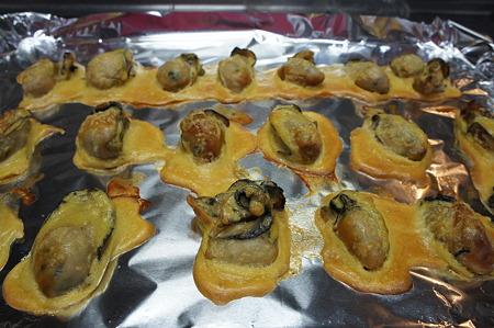 牡蠣の素焼き(もとやき)