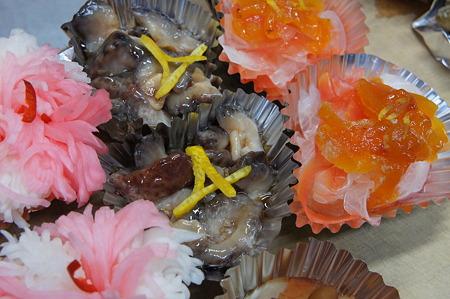 柚子の松葉飾り