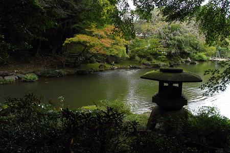 静寂の成田山公園