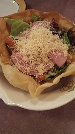 ピザ風シーザーサラダ