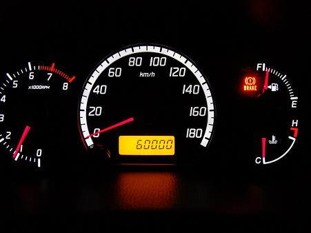スイフト60000km達成
