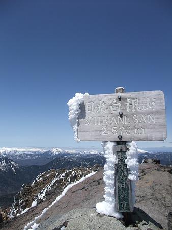 白根山山頂のえびのしっぽ