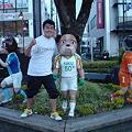 Photos: 藤枝駅前のHONE丸くんの...