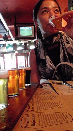 ビールを飲み比べ1