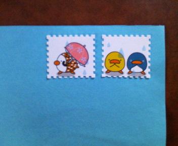 20081101すぷぴよ切手