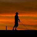 Photos: 釣る人