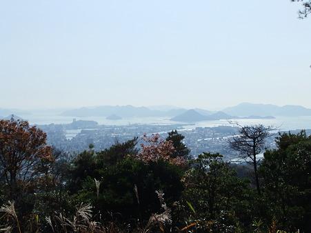 宗箇山山頂からの眺望
