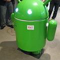 写真: Androidだ